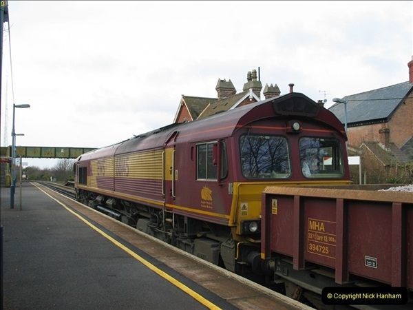 2000 to 2009 Local Rail. Bournemouth to Poole. Dorset (266)266