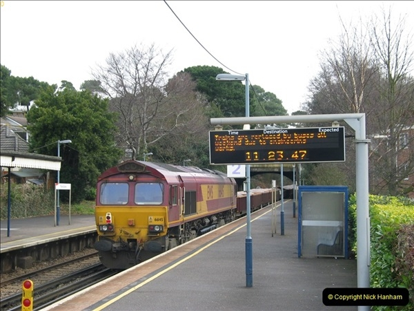 2000 to 2009 Local Rail. Bournemouth to Poole. Dorset (267)267