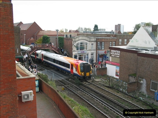 2000 to 2009 Local Rail. Bournemouth to Poole. Dorset (350)350