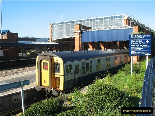 2000 to 2009 Local Rail. Bournemouth to Poole. Dorset (5)005