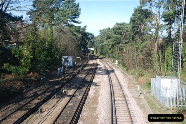 2000 to 2009 Local Rail. Bournemouth to Poole. Dorset (61)061