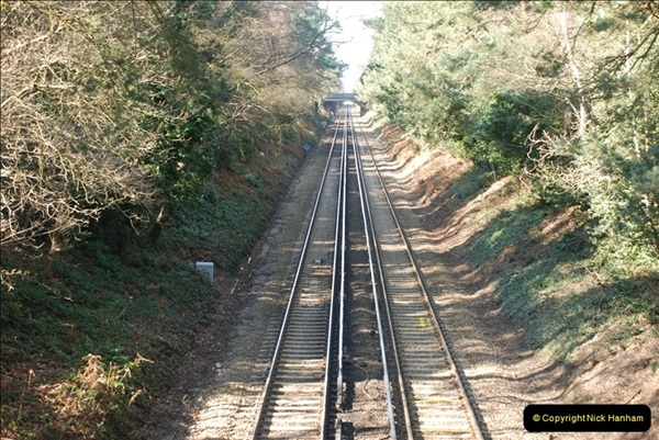 2000 to 2009 Local Rail. Bournemouth to Poole. Dorset (83)083