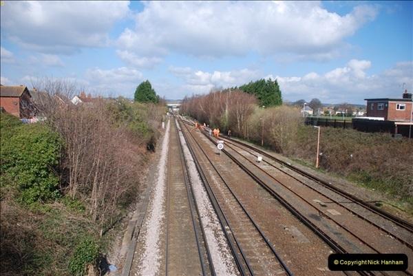 2000 to 2009 Local Rail. Poole to Hamworthy. Dorset (10)410