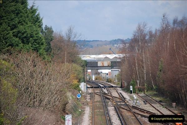 2000 to 2009 Local Rail. Poole to Hamworthy. Dorset (11)411