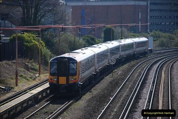 2000 to 2009 Local Rail. Poole to Hamworthy. Dorset (14)414