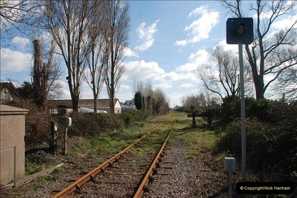 2000 to 2009 Local Rail. Poole to Hamworthy. Dorset (149)549