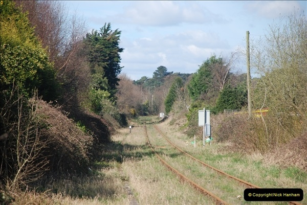 2000 to 2009 Local Rail. Poole to Hamworthy. Dorset (153)553