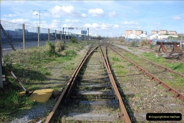 2000 to 2009 Local Rail. Poole to Hamworthy. Dorset (157)557
