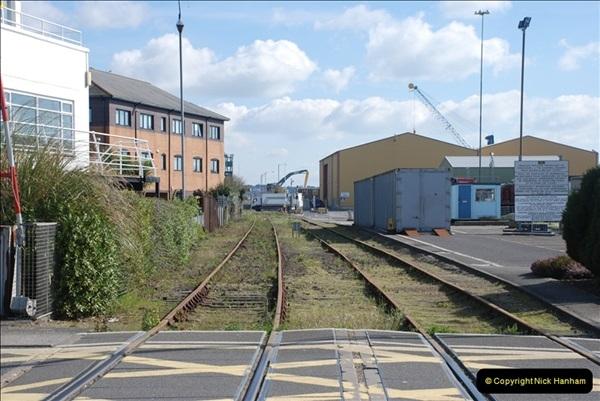 2000 to 2009 Local Rail. Poole to Hamworthy. Dorset (158)558