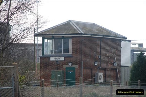 2000 to 2009 Local Rail. Poole to Hamworthy. Dorset (170)570
