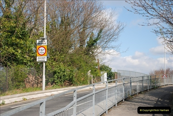 2000 to 2009 Local Rail. Poole to Hamworthy. Dorset (19)419