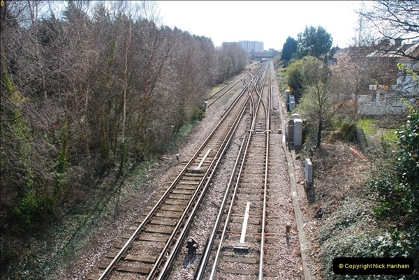 2000 to 2009 Local Rail. Poole to Hamworthy. Dorset (22)422