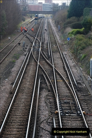 2000 to 2009 Local Rail. Poole to Hamworthy. Dorset (24)424