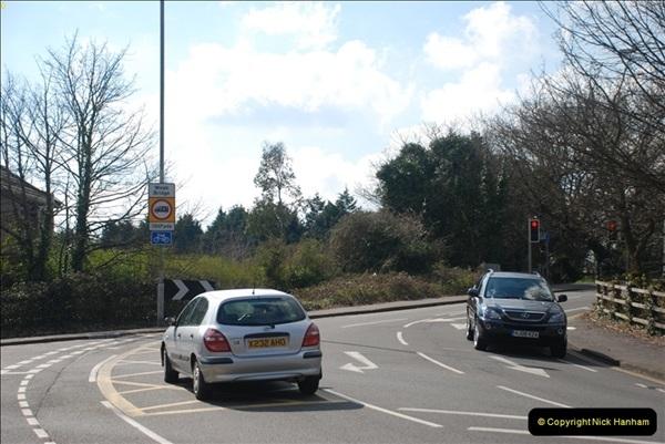 2000 to 2009 Local Rail. Poole to Hamworthy. Dorset (27)427