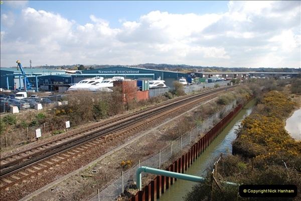 2000 to 2009 Local Rail. Poole to Hamworthy. Dorset (33)433