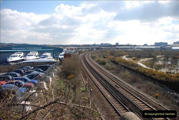 2000 to 2009 Local Rail. Poole to Hamworthy. Dorset (34)434