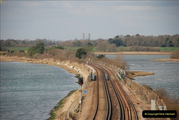 2000 to 2009 Local Rail. Poole to Hamworthy. Dorset (44)444
