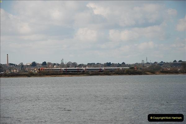 2000 to 2009 Local Rail. Poole to Hamworthy. Dorset (54)454