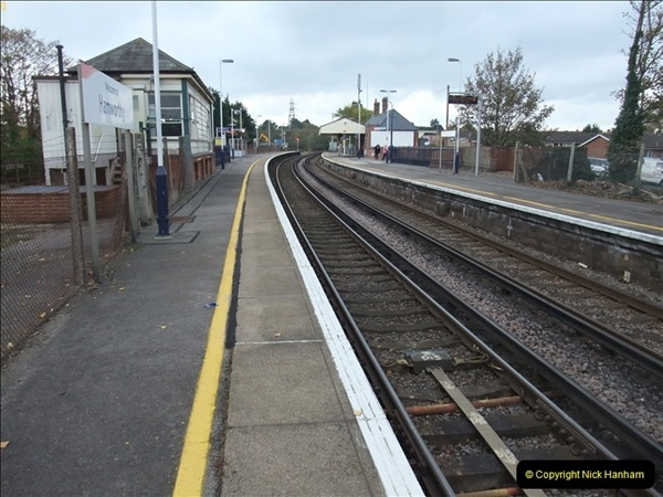 2000 to 2009 Local Rail. Poole to Hamworthy. Dorset (86)486
