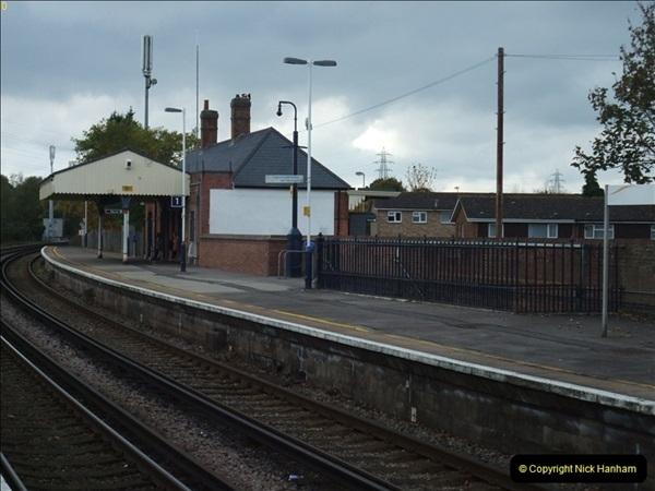 2000 to 2009 Local Rail. Poole to Hamworthy. Dorset (87)487