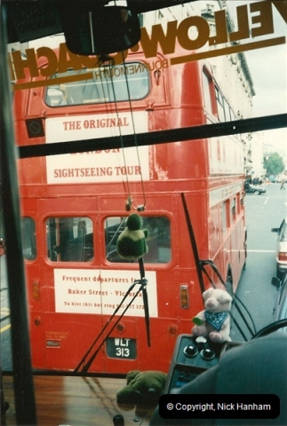 London Buses 1963 to 2007.  (113) 113