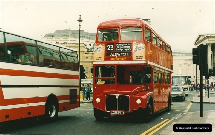 London Buses 1963 to 2007.  (115) 115