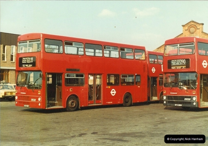 London Buses 1963 to 2007.  (12) 012