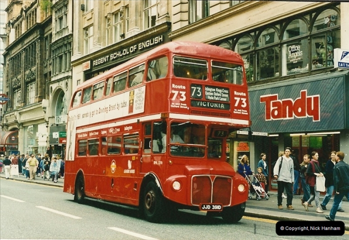 London Buses 1963 to 2007.  (120) 120