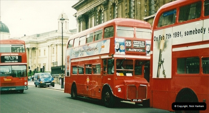 London Buses 1963 to 2007.  (129) 129