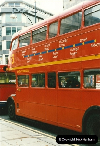London Buses 1963 to 2007.  (136) 136
