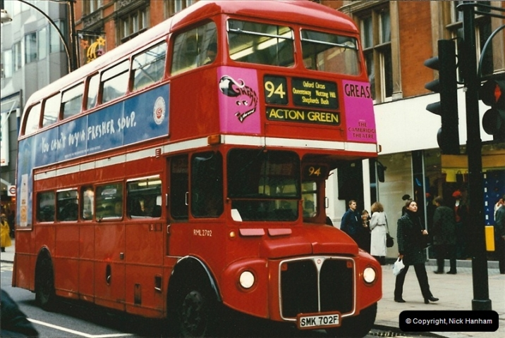 London Buses 1963 to 2007.  (140) 140