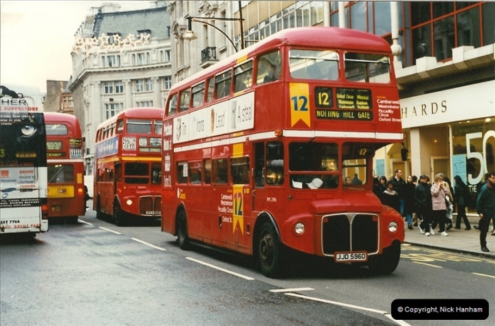 London Buses 1963 to 2007.  (144) 144