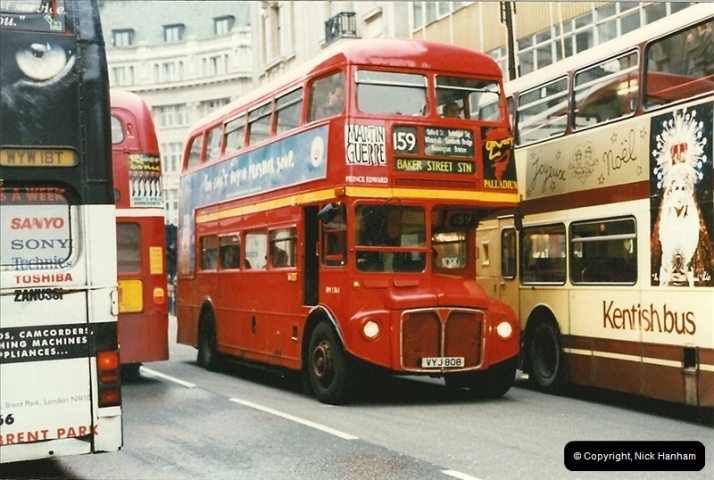 London Buses 1963 to 2007.  (145) 145