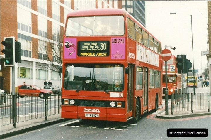 London Buses 1963 to 2007.  (155) 155