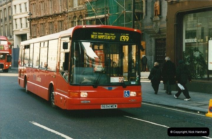 London Buses 1963 to 2007.  (160) 160