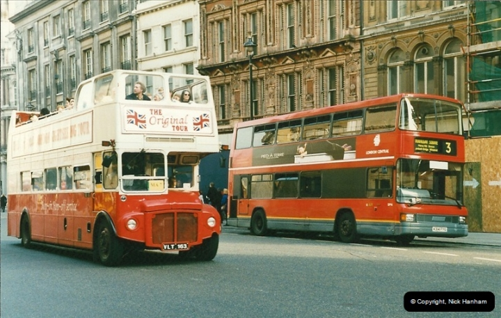 London Buses 1963 to 2007.  (163) 163