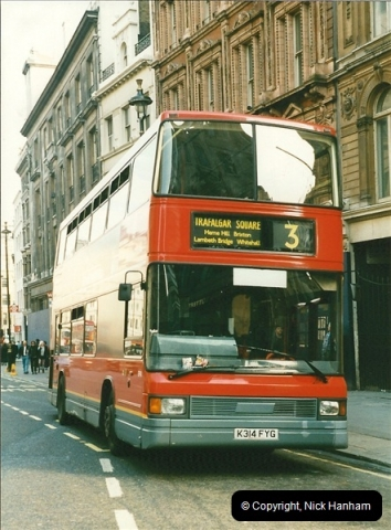 London Buses 1963 to 2007.  (164) 164