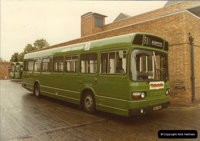 London Buses 1963 to 2007.  (17) 017
