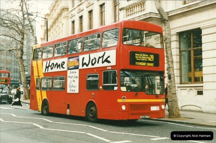 London Buses 1963 to 2007.  (170) 170
