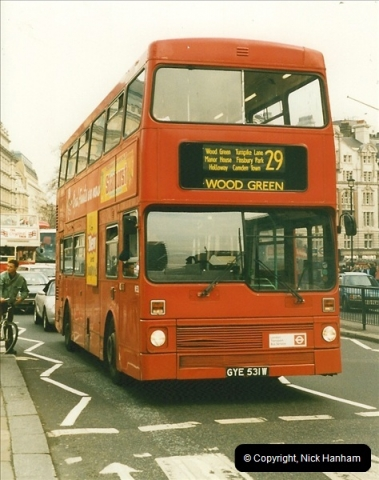 London Buses 1963 to 2007.  (177) 177