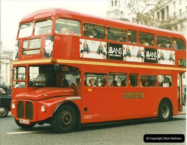 London Buses 1963 to 2007.  (179) 179