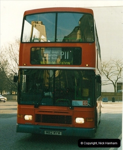 London Buses 1963 to 2007.  (180) 180