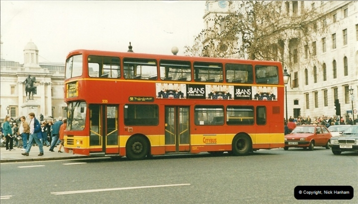 London Buses 1963 to 2007.  (181) 181