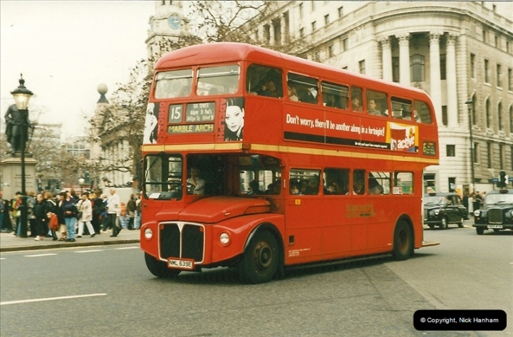 London Buses 1963 to 2007.  (185) 185
