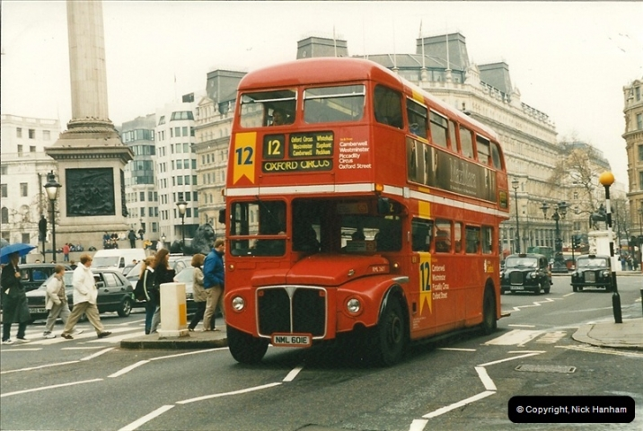 London Buses 1963 to 2007.  (191) 191
