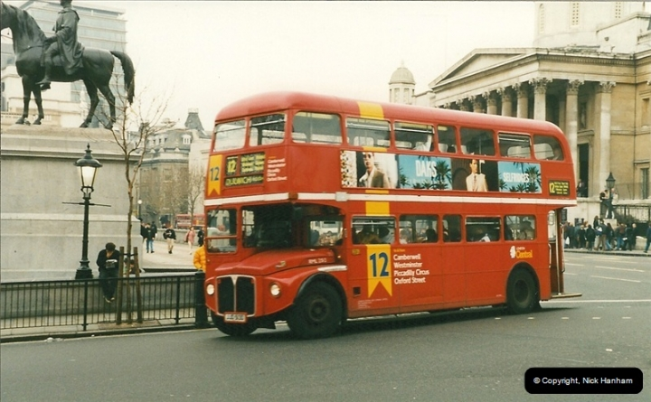 London Buses 1963 to 2007.  (193) 193