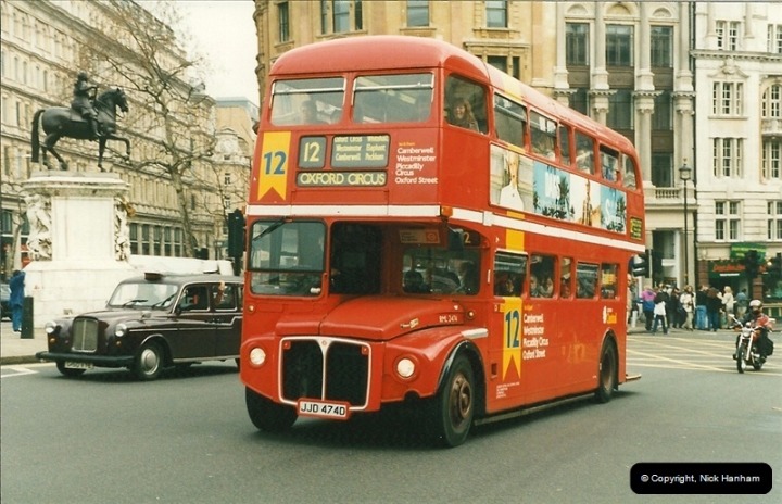 London Buses 1963 to 2007.  (194) 194