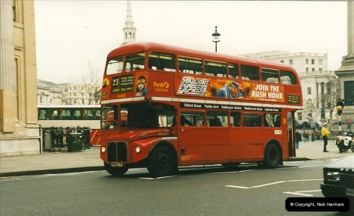 London Buses 1963 to 2007.  (201) 201