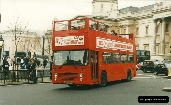 London Buses 1963 to 2007.  (212) 212