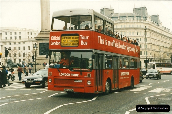 London Buses 1963 to 2007.  (213) 213